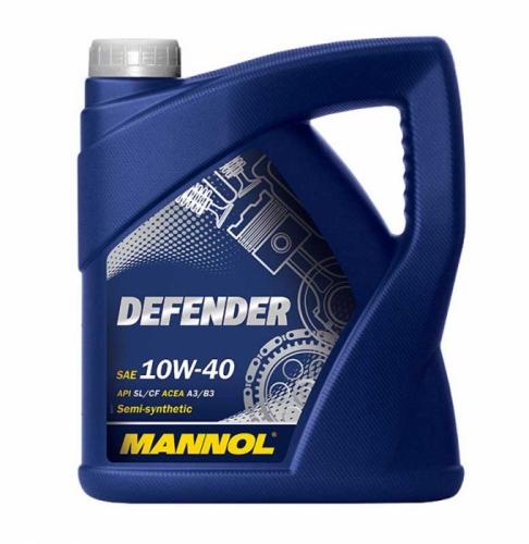 Моторное масло Mannol Defender 10w40 4л