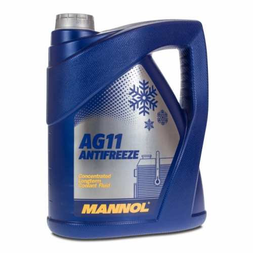 Концентрат Mannol Antifreeze Longterm AG-11 синий 5л
