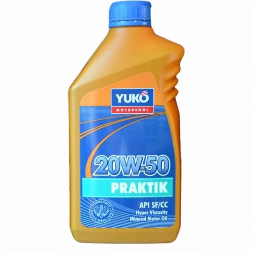 Моторне масло YUKO Praktik 20w50 1л SF/CC