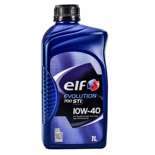 Моторное масло Elf EVOLUTION 700 STI 10w40 1л/0,87кг НОВАЯ КАНИСТРА