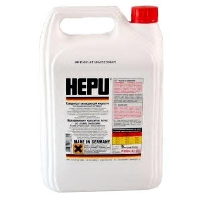 Концентрат антифриза HEPU красный 5л
