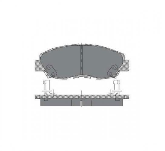 SCT Колодки SP 180