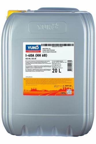 Масло YUKO И-40A 20л (ISO 68)