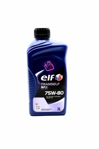 Трансмиссионное масло Elf Tranself NFJ GL-4 75w80 1л/0,87кг НОВАЯ КАНИСТРА!!!