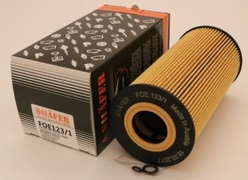 Фильтр масляный SHAFER FOE123/1 B Sprinter 2.9TDI, 96-