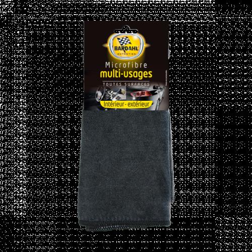 Тряпка из микрофибры универсальная (черная) BARDAHL Microfibre Multi Usage Noire 38924