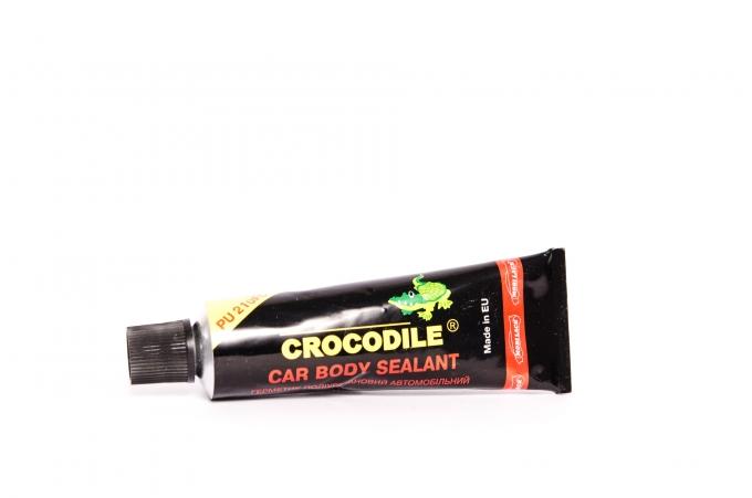Герметик для швов Crocodil черный полиур. 0,33л