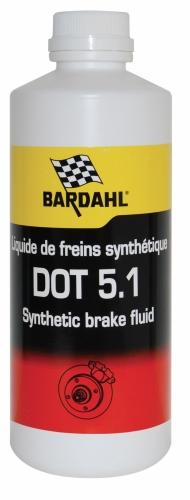 Тормозная жидкость DOT 5.1 BARDAHL 0.25л  4989
