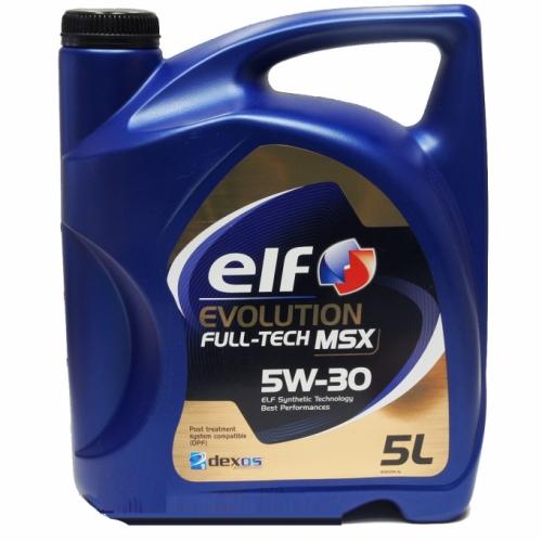 Моторное масло ELF EVOLUTION FULL-TECH MSX 5w30 5л.