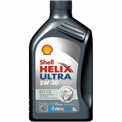 Shell Моторное масло Shell Helix Ultra ECT C3 5w30 1л A3/B4 C3 1 л