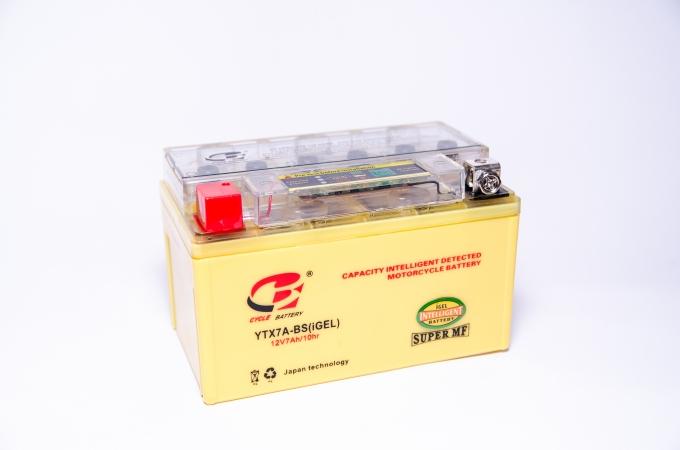 CYCLE Battery Аккумулятор МОТО CYCLE Battery 12V 7a (гель) Super MF (желтый) Китай