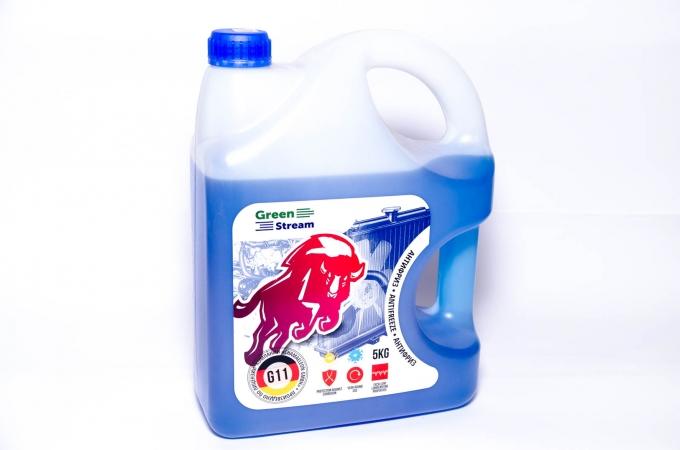 Антифриз GreenStream (синий) 5кг