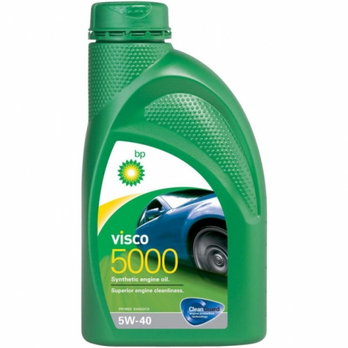BP Visco 5000 5w40 1л SL/CF A3/B4 (12)