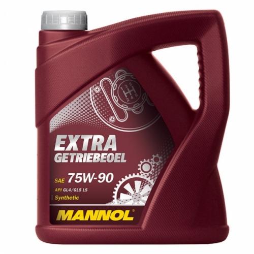 Трансмиссионное масло Mannol Extra Getriebeoel 75w90 GL-5 4л
