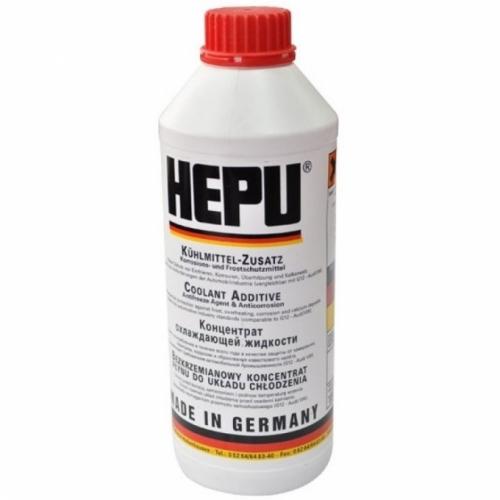 Концентрат антифриза HEPU красный 1,5л