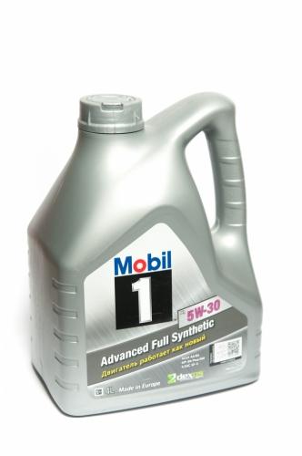 Моторное масло Mobil-1 5w30 4л