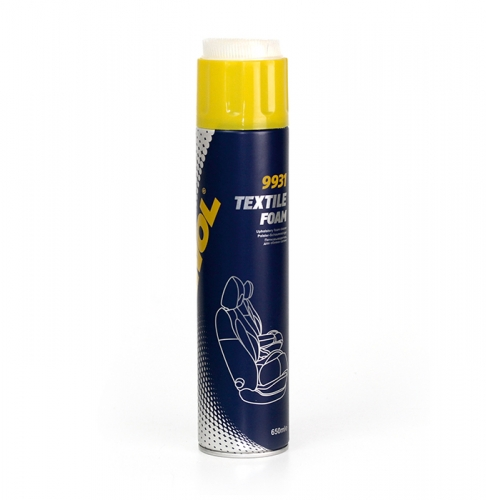Очищувач обивки Mannol 9931Textile foam (Polster-Schaum) аерозоль