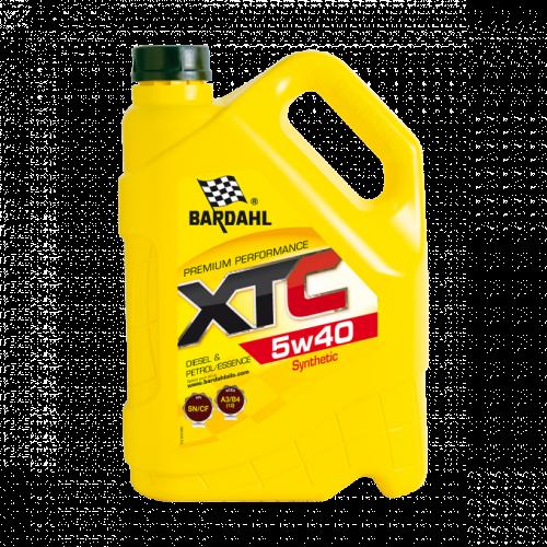 Моторное масло BARDAHL XTC 5W40 5л. 36163
