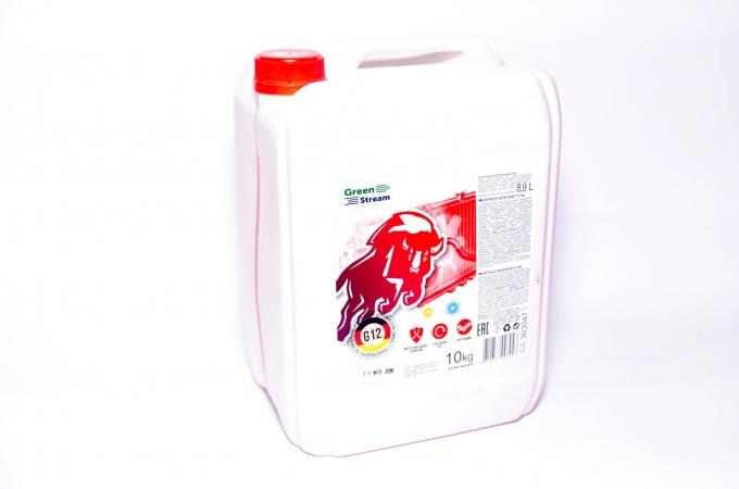 Антифриз GreenStream (красный) 10кг
