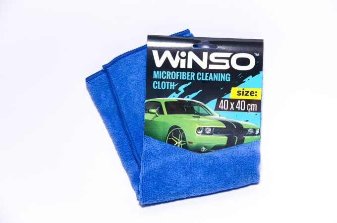 Тряпка микрофибра WINSO (синяя) 40*40см