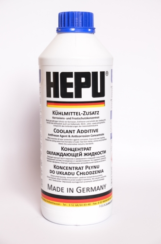 Концентрат антифризу HEPU синій 1,5 л
