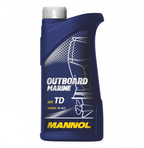 Моторное масло Mannol Outboard Marine TC-W3