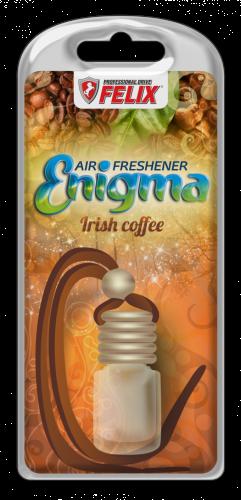 Ароматы подвесной с деревянной крышкой FELIX Enigma Irish-coffe (Ирландский кофе) 6мл