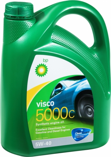 BP Visco 5000 5w40 4л SL/CF A3/B4