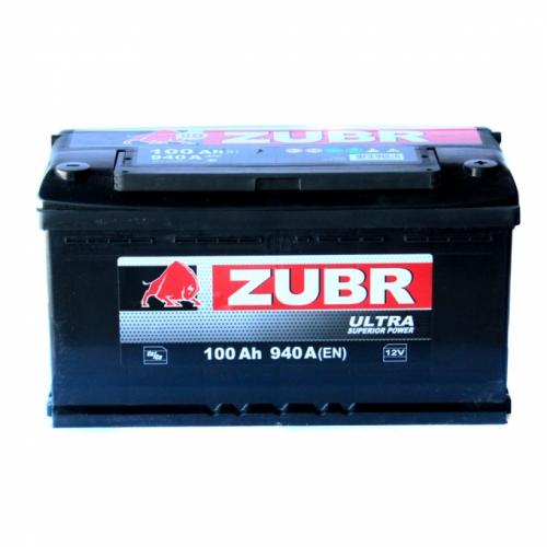 Аккумулятор ZUBR Ultra -100A +правый (940 пуск)