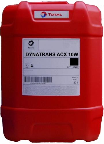 Гидравлическое масло TOTAL DYNATRANS ACX 10W 20л