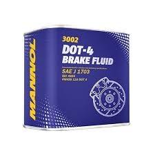 Тормозная жидкость Mannol DOT 4 0,5л/0,4145кг
