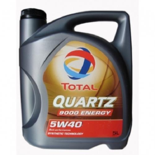 Моторное масло Total QUARTZ 9000 Energy 5w40 4л