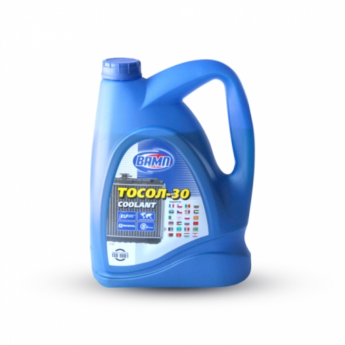 Охлаждающая жидкость Вамп Тосол -30 5л