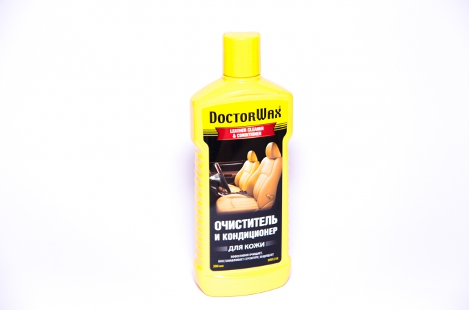 Doctor Wax DW 5210 Очиститель-кондиционер кожи 300мл