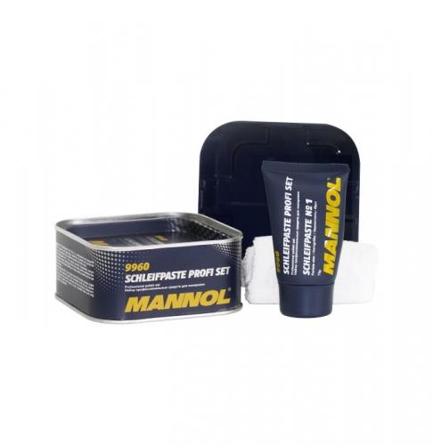 Поліроль кузова Mannol 9960 Schleifpaste Profi Set