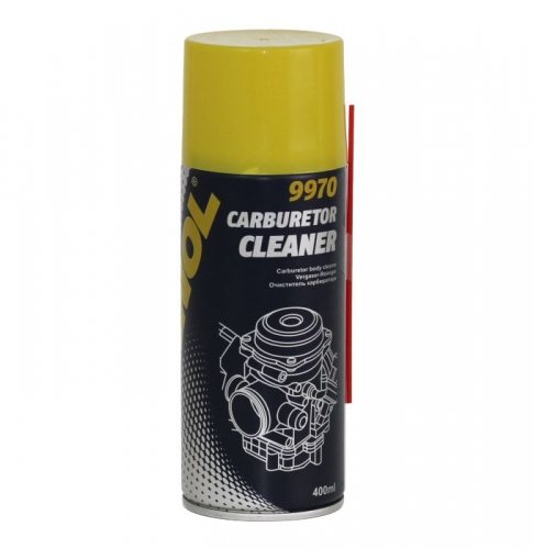 Очиститель карбюр-ра Mannol 9970 Carburator cleaner 0,4л аэрозоль