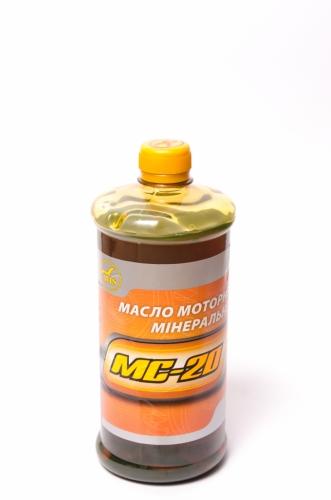 Масло мінеральне М14В2 класу мс-20 0,9 л (бочата)