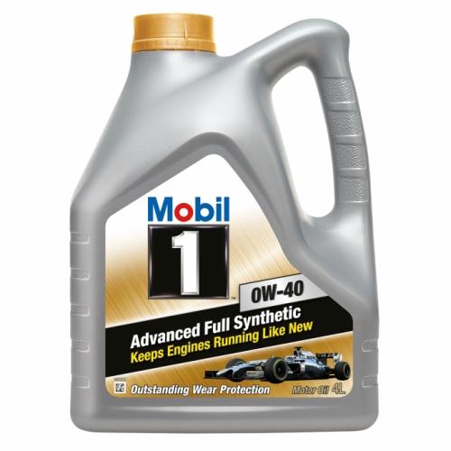 Моторне масло Mobil-1 0w40 4л SN/CF A3/B4