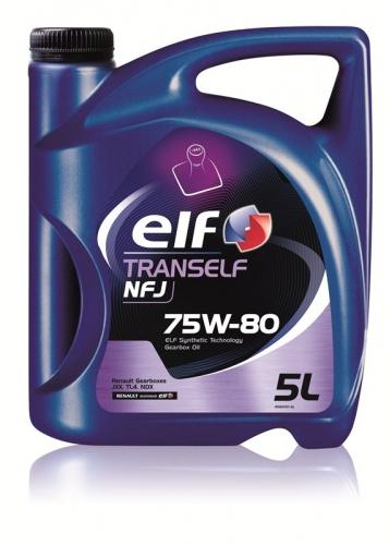 Трансмиссионное масло Elf Tranself NFJ GL-4  75w80 5л.