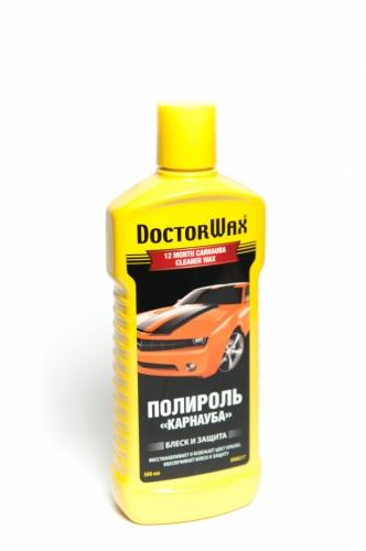 DW 8217  Полироль-очиститель КАРНАУБА 300мл DoctorWax