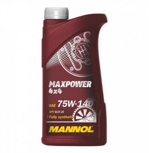 Трансмиссионное масло Mannol Maxpower 75w140 GL-5 1л