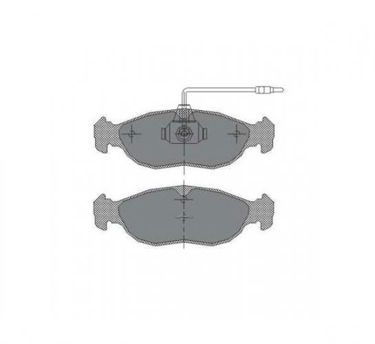 SCT Колодки SP 214