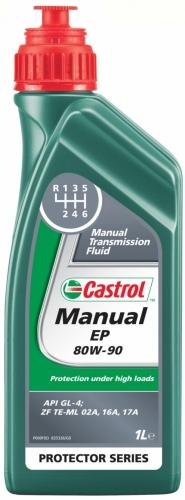 Castrol Масло для механических коробок передач Castrol Manual EP 80w90 GL-4 1л 1 л