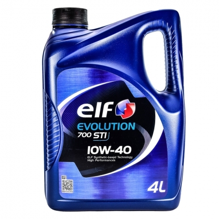 Моторное масло Elf EVOLUTION 700 STI 10w40 4л/3,84кг НОВАЯ КАНИСТРА!