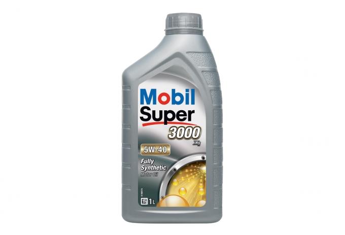 Моторное масло Mobil Super 3000 5w40 1л SN/CF