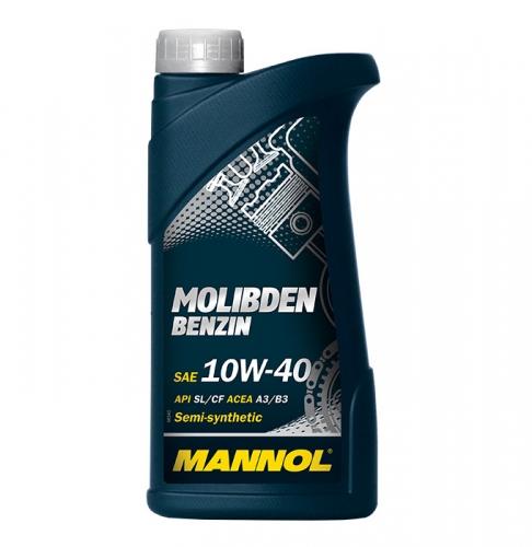 Моторне масло Mannol Molibden benzin 10w40 1л