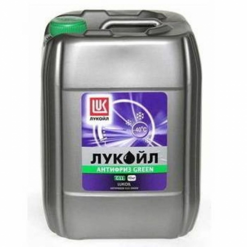 Антифриз Лукойл G11 GREEN -40 10 кг