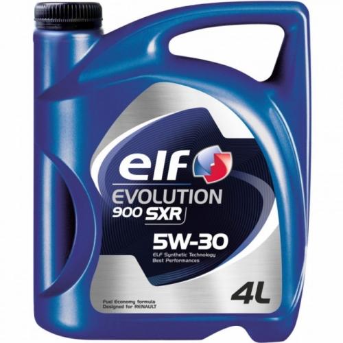 Моторное масло Elf EVOLUTION 900 SXR 5w30 4 л.
