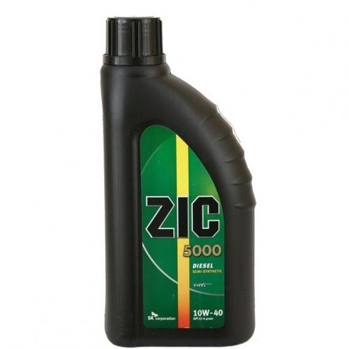 Zic 5000 10w40 моторне масло 1л