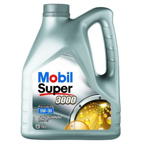 Моторное масло Mobil 3000 FORMULA-FE 5w30 4 л SL/CF, A5/B5 Ford